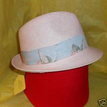 Liberty Print Band  Pink Ladys Panama Hat Christys of London Photo