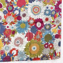 Liberty Scarf Cotton Bandana Colorful Sunflower Bloom Handkerchief Square 22