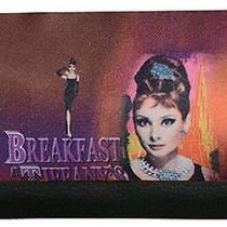 Licensed Audrey Hepburn Breakfast at Tiffany's  Checkbook Wallet Billfold Photo