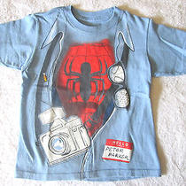 Licensed Marvel Peter Parker / Spiderman Tee T-Shirt 3t Euc Photo