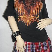 Licensed Official Lamb of God Xxxl Shirt Flaming Eagle Groove Metal Photo