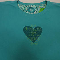 Life Is Good Women's T Shirt  Heart  Large Photo