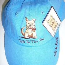 Life Is Ruff Dog Lover Baseball Hat  See Styles New With Tags Quick  Free Ship Photo