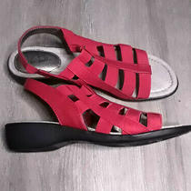 Life Stride Theory Red Strappy Sandals - Size 7 Nwob  Orig. 60 Photo