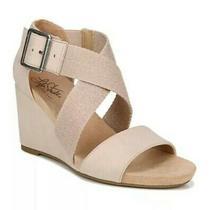 Lifestrid Ehayden Quarter Ankle Straps Size 8.5 Blush Nwt Photo