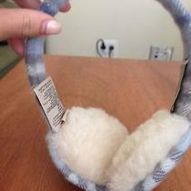 Light Blue Burberry Earmuffs Photo