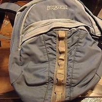 Light Blue Jansport Backpack Photo