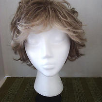 Light Brown Ladies Wig With Highlights...21
