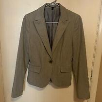 Light Gray Express Womens Suit Jacket - Size 4 Photo
