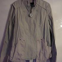 Light Grey/beige Jacket Diesel Size M Photo