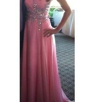 Light Pink Tiffany Prom Dress Photo