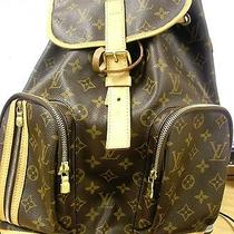 Like New Authentic Louis Vuitton Monogram Canvas Sac a Dos Bosphore Backpack Bag Photo