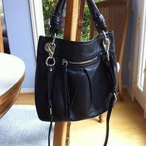 Like New Black Leather Coach Convertible Hippie Parker Shoulder Bag 13416 Photo