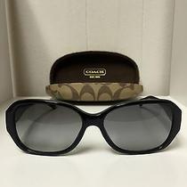 Like-New Coach Sunglasses Hc 8011b 5002/11 Black Reese Photo