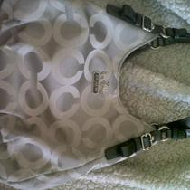 Like New Condition Gray Hobo Coach Bag Photo