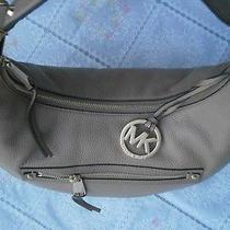 Like New Designer Michael Kors Hobo Womens Shoulder Leather Bag. Photo