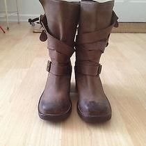Like New  Jeffrey Campbell Brit Dk Brown Boots Size 8 Photo