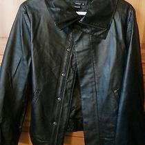 Like New Leather Jacket - Nixon Women's Size Xl Photo