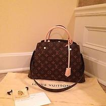 Like New Louis Vuitton Montaigne Mm Guaranteed Authentic Photo