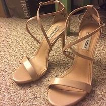 Like New Steve Madden Feliz Nordstrom Blush Patent High Heels Size 8 Photo