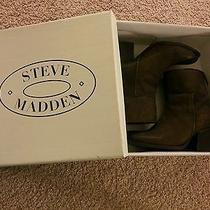 Like New Steve Madden Sandyy Brown Leat Size 8 Photo