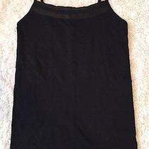 Like New the Limited Black Satin Trim Seamless Tank Size Small Photo