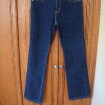 Like New Tommy Hilfiger Women's Size 9 Dark Denim Jean Photo