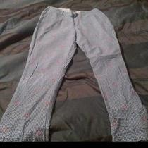 Like New Vineyard Vines Kentucky Derby Seersucker Gingham Pants 35 X 32 Photo