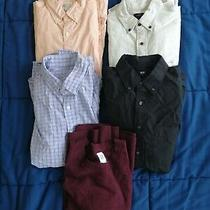 Likenew J. Crew Uniqlo Gap Men's Small Shirts Lot 250 Value Photo