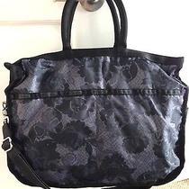 Likenew  Lesport Sac Tote Exclusive Swan Lace Diaper Bag Photo