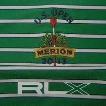 Likenew Men's Rlx Ralph Lauren 2013 Us Open Merion Golf Club S/s Polo Shirt 2xl Photo