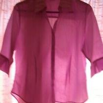 Lilac Shirt Size 14 Topshop Photo