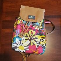 Lilly Bloom Backpack Bag. Size Small. Multi-Colored Design. Photo