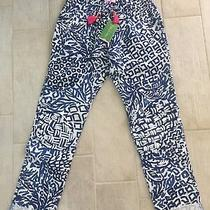 Lilly Pulitzer Aden Pant Indigo Home Slice Size Xs Brand New With Tags Photo