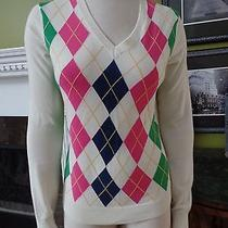 Lilly Pulitzer Argily v Neck Sweater M Photo