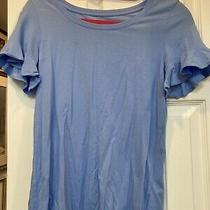 Lilly Pulitzer Blue Tee Shirt Size Xs Pre Owned Photo