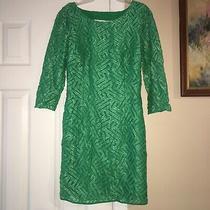 Lilly Pulitzer Camilla Dress Fern Green Size 2 Christmas Holidays Photo