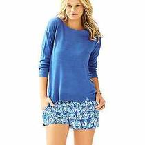 Lilly Pulitzer Camilla Sweater in Iris Bluenwt Med. Orig94. New Color Arrival Photo