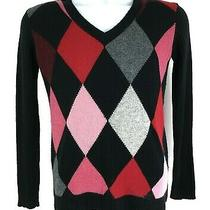 Lilly Pulitzer Casual Sweater Multicolor Pullover Vintage Womens Size M Photo