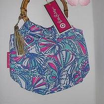 Lilly Pulitzer for Target Girls' Wristlet - My Fans Bamboo Clutch Handbag Photo