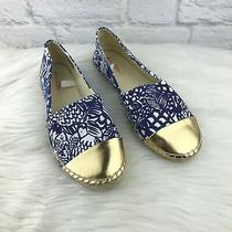 Lilly Pulitzer for Target Upstream Espadrilles Flats Shoes Blue Size 9 Blemish Photo