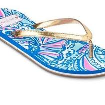 Lilly Pulitzer for Target Women's Flip Flops - My Fans Size 7 Photo