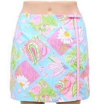 Lilly Pulitzer Fun Summer Floral Golf Skort Size 4 Photo
