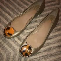 Lilly Pulitzer Gold Ballet Flats 8.5 Photo