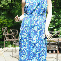 Lilly Pulitzer Lulu True Navy Skindalous Blue Snakeskin Print 12 New Photo