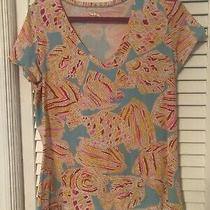 Lilly Pulitzer Michelle Tini Bikini T Shirt Large Photo