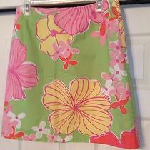 Lilly Pulitzer Mini Skirt Size 10 - Euc Photo