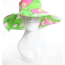 Lilly Pulitzer Multicolored Floral Printed Sun Hat Sz Os Photo
