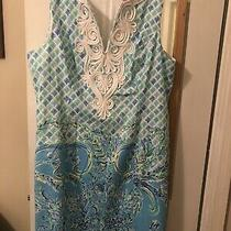 Lilly Pulitzer Nwt Size 14 Gabby Shift Dress Multi in Full Bloom Engineered Photo