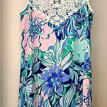 Lilly Pulitzer Pearl Soft Shift Dress Size 0 Coastal Blue Catch N Keep Photo